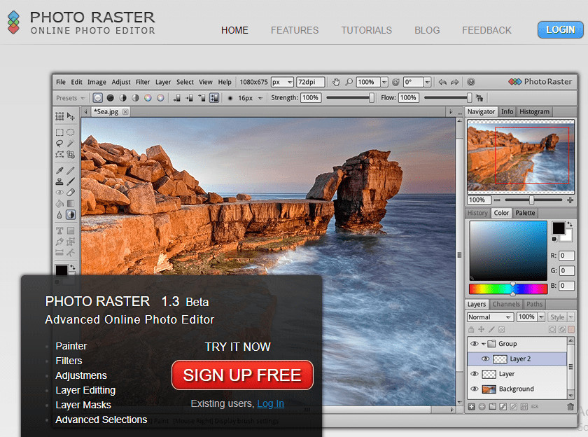 Helpful Blur Photo Editor - Photoraster