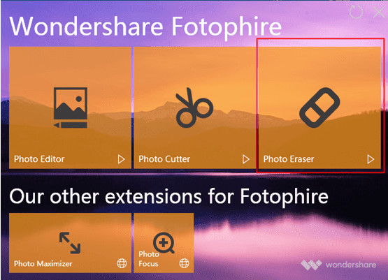Helpful Blur Photo Editor - Wondershare Fotophire Focus