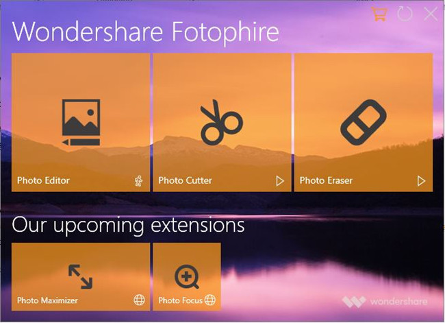 Camera Photo Editors for Photographers - Fotophire Editing Toolkit