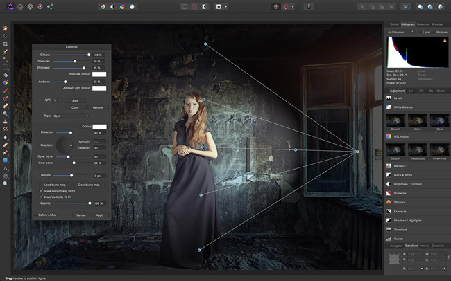 Camera Photo Editors for Photographers - Serif Affinity Photo