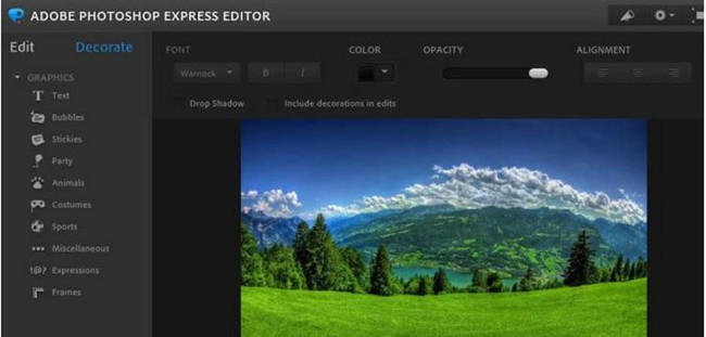 Camera Photo Editors for Photographers - Adobe Photoshop Express