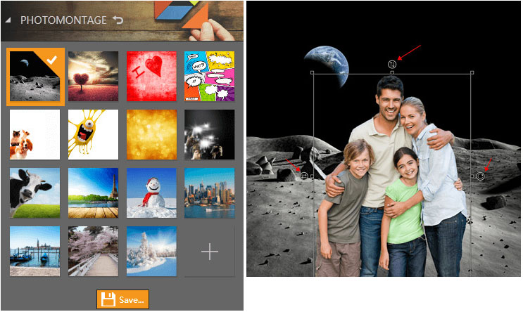 Photo Effect Editor Programs and Apps - Make a Photo Montage