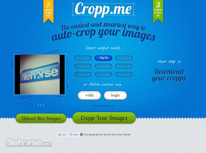 Helpful Websites to Crop Images Online - Cropp.me
