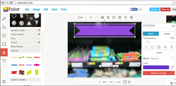 Helpful Websites to Crop Images Online - Fotor Photo Cropper