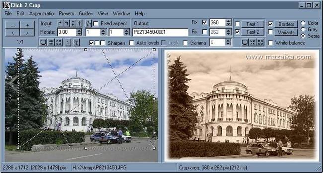 Face Crop Editor - Click 2 Crop