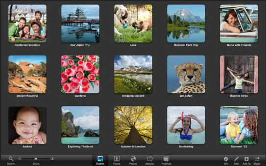 Face Crop Editor - Apple iPhoto for Mac