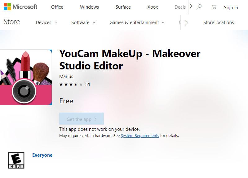 Face Makeup Editors - Youcam Mkaeup Editor