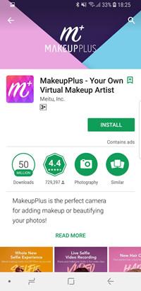 Face Makeup Editors - Makeup Plus