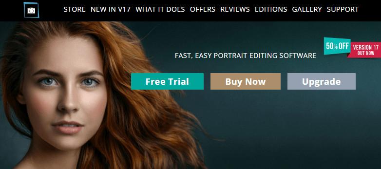 Face Makeup Editors - Portrait Pro