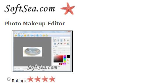 Face Makeup Editors - Photo Makeup Editor Softsea