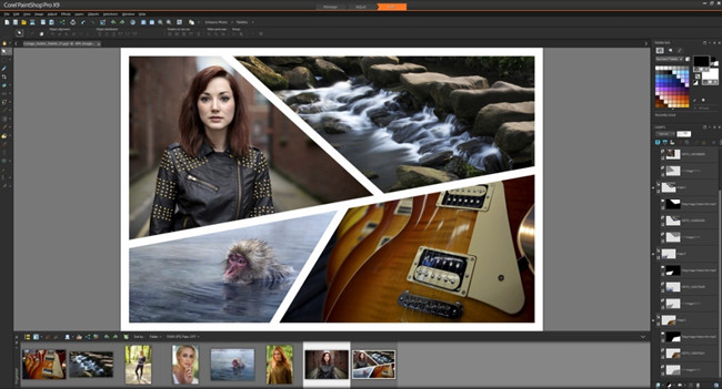 Free Photo Editor Software and Apps - Corel PaintShop Pro 2018