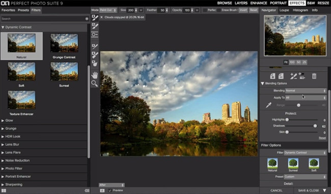 Free Photo Editor Software and Apps - On1 Perfect Effects