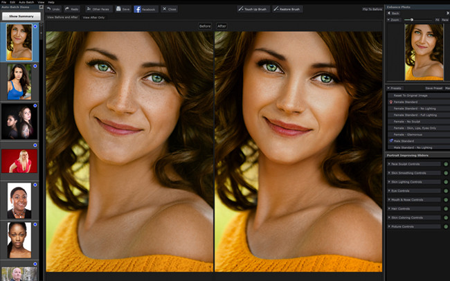 Free Photo Editor Software and Apps - PortraitPro