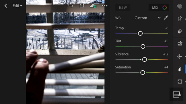 Free Photo Editor Software and Apps - Adobe lightroom
