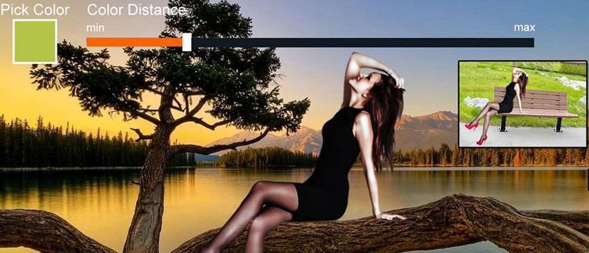 HD Photo Background Changer Software & Apps - Chroma Background Changer
