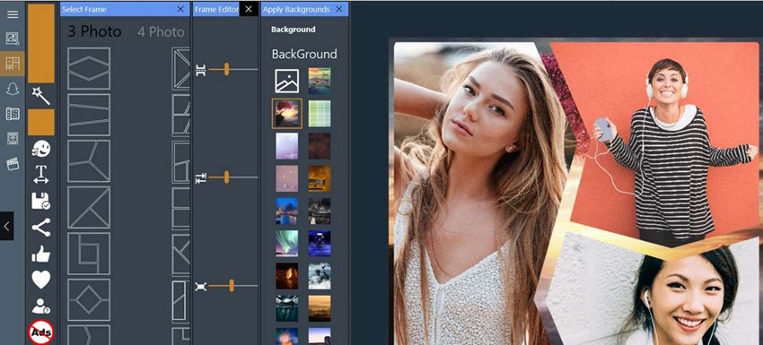 HD Photo Background Changer Software & Apps - insta Photo Collage