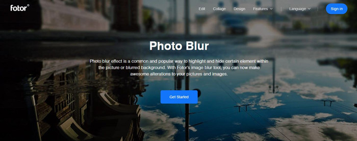 Most Helpful Deblur Software - Fotor Photo Blur