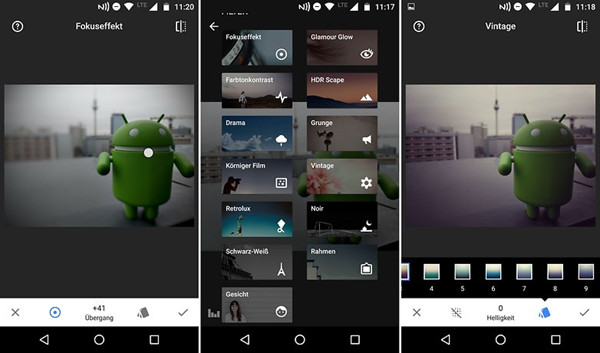 Top Instagram Photo Editor Apps - Snapseed