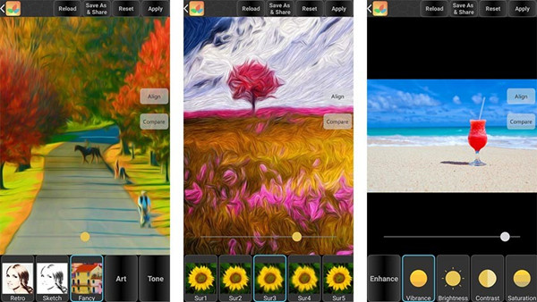 Top Instagram Photo Editor Apps - Bonfire Photo Editor Pro