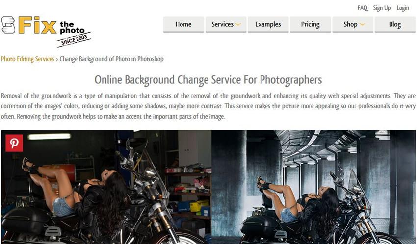 Best Online Photo Background Changer - Fix The Photo