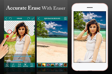 Photo Background Changer and Editor - Ultimate Background Eraser