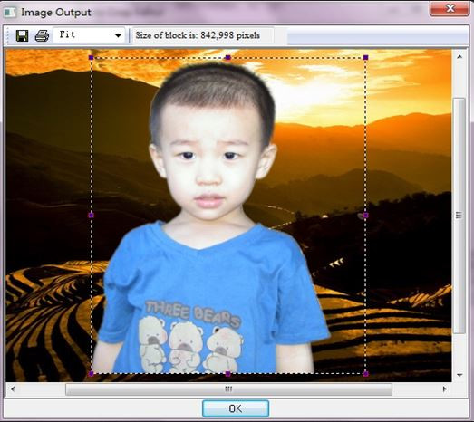 Photo Background Changer Software for Windows 7 - Photo Crop Editor
