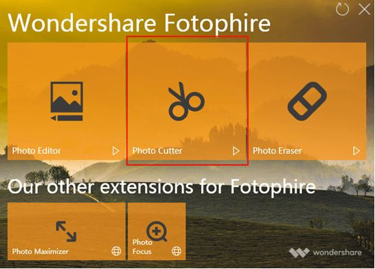 Photo Background Changer Software for Windows 7 - Install and Start Fotophire Editing Toolkit