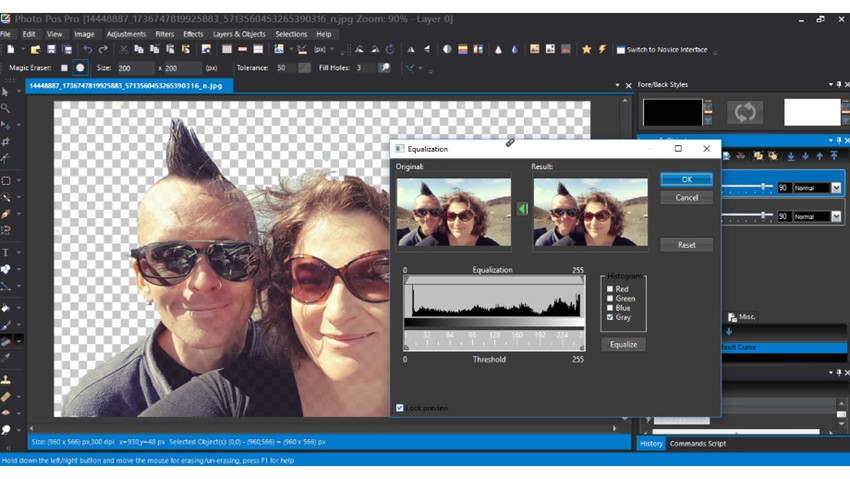 Helpful Photo Cropper and Editor Software & Apps - Photo Pos Pro