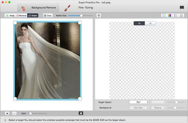 Photo Cutter and Background Changer - Super PhotoCut Pro for Mac