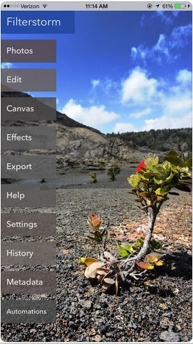 Photo Effect Editor Programs and Apps - Filterstorm Neue