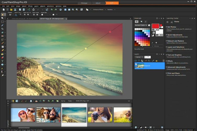 Photo Frame Editor Software and Apps - Corel PaintShop Pro X9 Ultimate