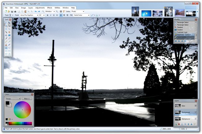 Photo Frame Editor Software and Apps - Paint.net