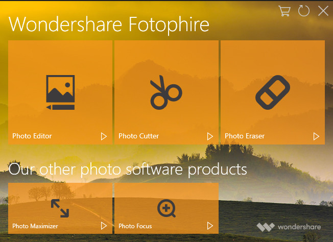 Photo Squarer Apps - install and Start Fotophire Editing Toolkit