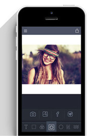 Photo Squarer Apps - Square Sized