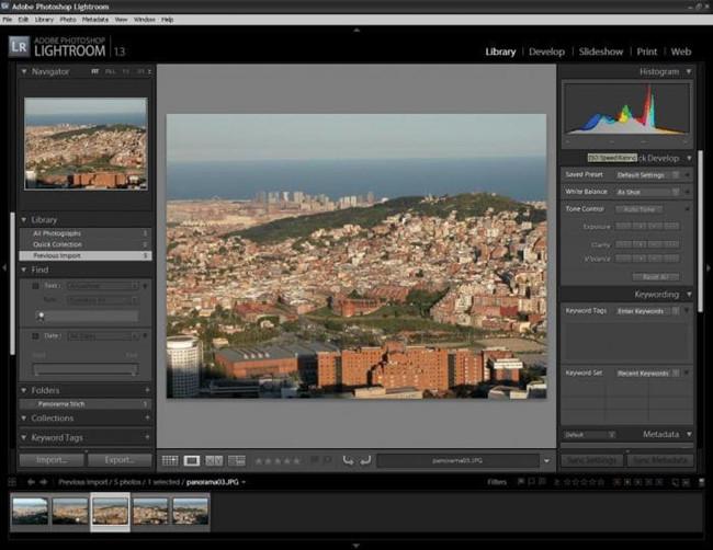 Professional Photo Editor Software - Lightroom