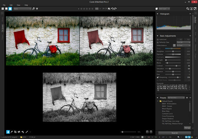Professional Photo Editor Software - AfterShot Pro