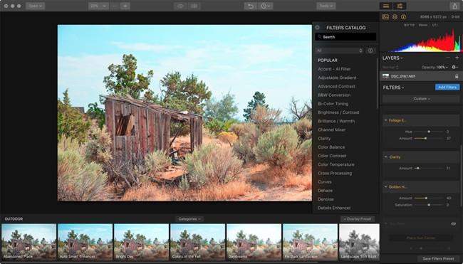 Professional Photo Editor Software - MacPhun Luminar Creative Kit