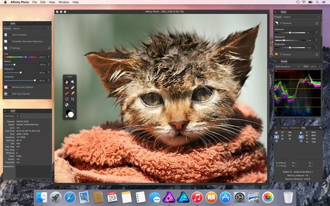 Professional Photo Editor Software - Serrif Affinity Photo