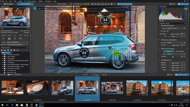 Professional Photo Editor Software - DxO PhotoLab