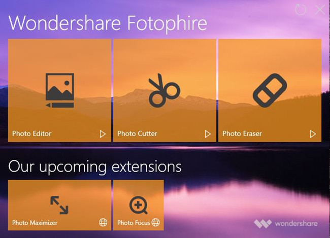 Professional Photo Editor Software - Install and Start Fotophire Editing Toolkit