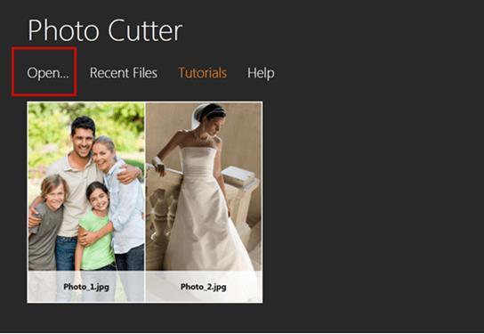 Professional Photo Editor Software - Import Photos