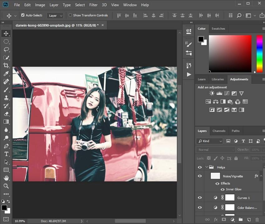 Photoshop Effects - RETRO