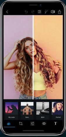 Photo Filter Apps - Adobe Photoshop Express
