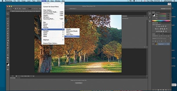 Photo Light Effects - Find the Effects and Click the Lighting Effects
