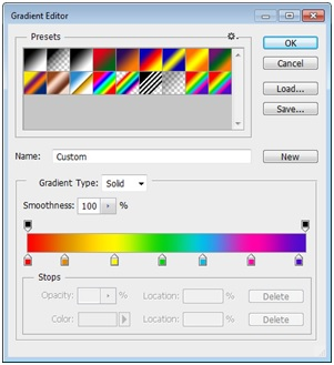 Rainbow Effect -Create the Gradients of the Colors