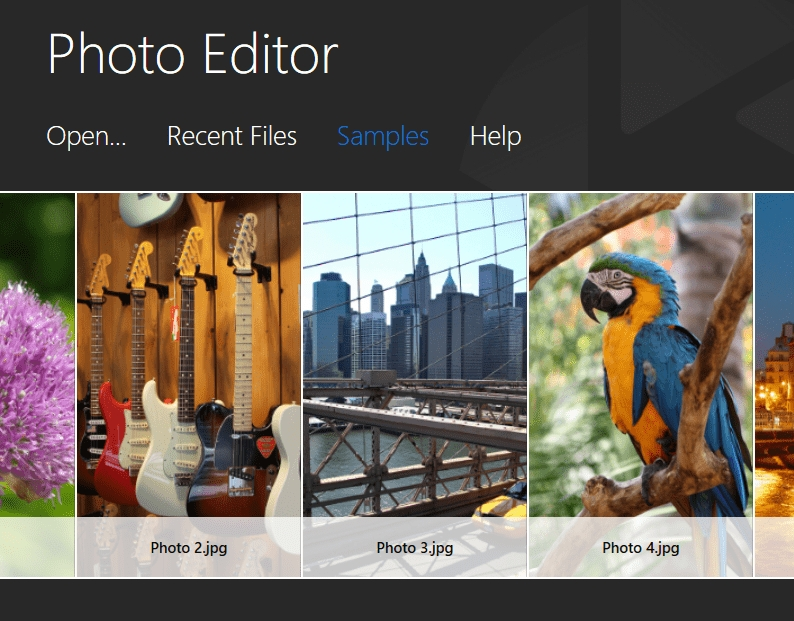 Old Photo Effects-Import Image File