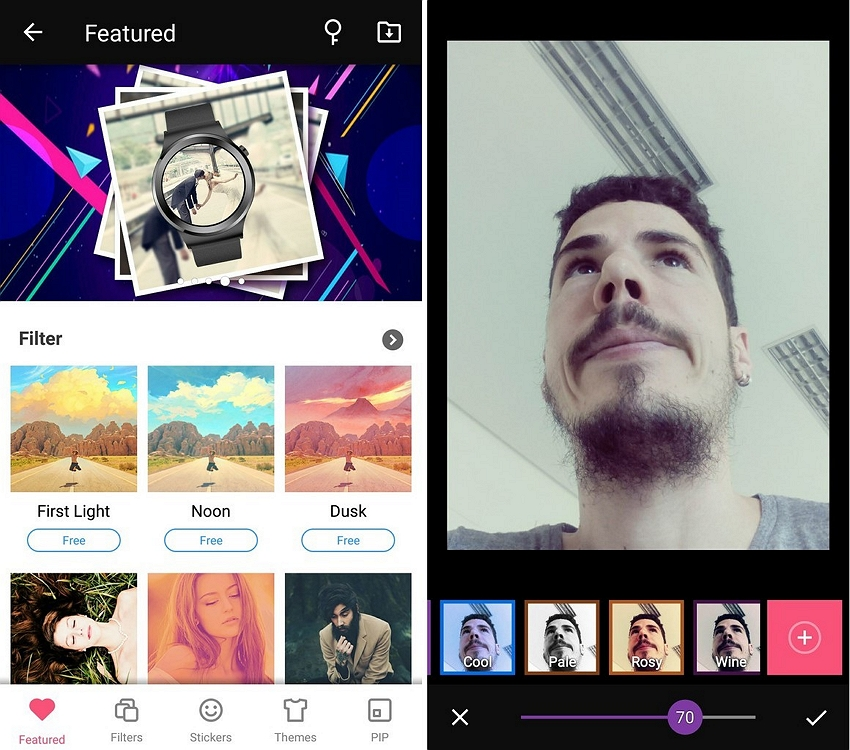 Helpful Instagram-Filters - S Photo Editor