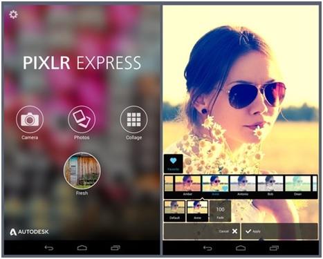 Photo Filters - Pixlr Express