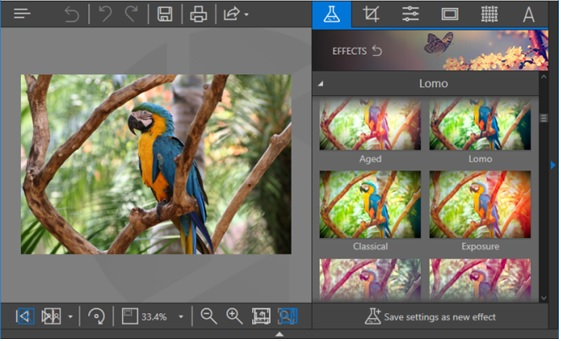 Photo Filters - Fotophire Editing Toolkit