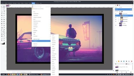 Photo Filters - GIMP